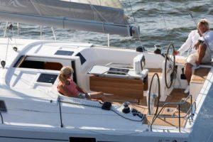 Hanse 418 sailing boat charter in Soller