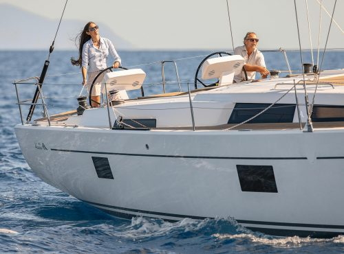 Sailing yacht charter in Soller – Hanse 508