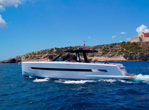 Yacht Charter Ibiza – Fjord 48