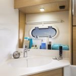 Facilities onboard the Bavaria 30 Sport