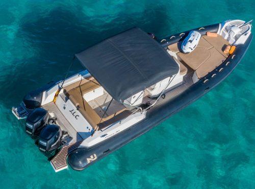 Bareboat rib charter Ibiza – Nuova Jolly 30