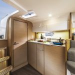 Galley on the Bavaria 30 Sport
