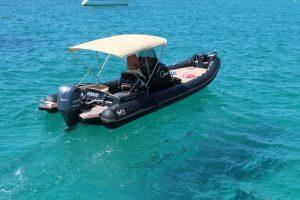 Nuova Jolly 25 rib charter in Ibiza