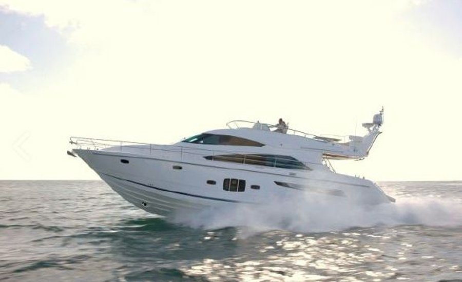 Fairline Squadron 55 for yacht charter in Portals
