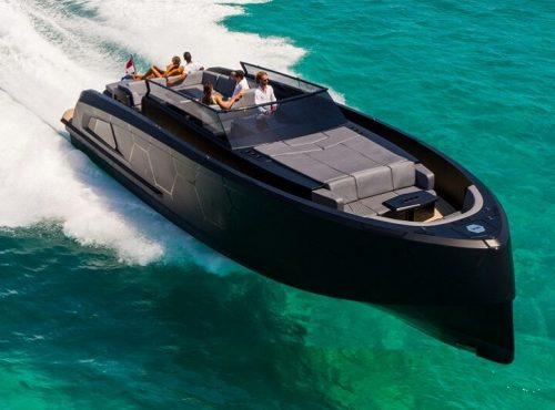 Boat Charter in Ibiza – Vanquish VQ 45