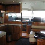 Salon on the Fairline Squadron 55 Yacht charter in Mallorca