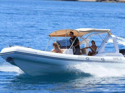 Rib Charter in Ibiza – Sacs 25 Dream Luxe