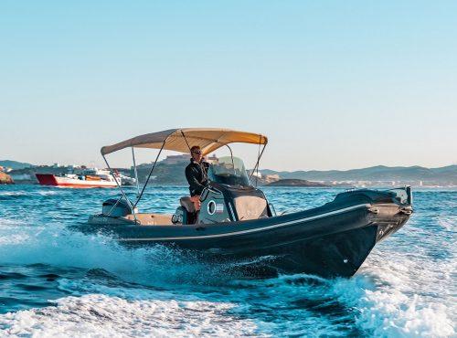 Rib rental in Ibiza – Nuova Jolly 25