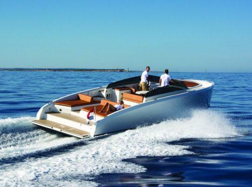 Ibiza Yacht Rental – Vanquish VQ 43