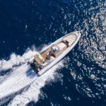 Cruise the stunning waters of Mallorca on the Lomac 1000 rib charter from Palma