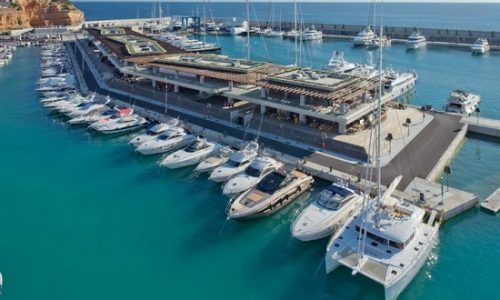 Yachts for charter in Port Adriano in Mallorca
