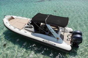Relax on your next charter in Ibiza onboard this perfect rib rental