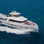 Luxury Yacht Charter in Ibiza on board the stunning Vanquish VQ82
