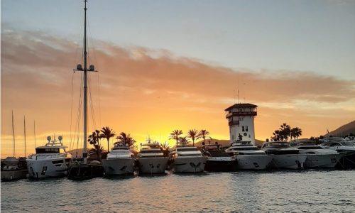 Puerto Portals sunsets in Mallorca