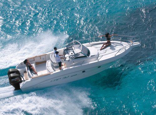 Boat rental in Ibiza – Capelli Cap 32