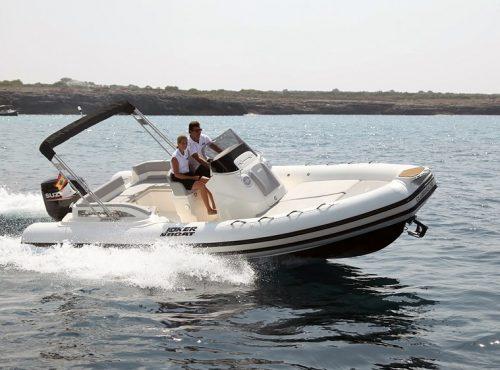 Bareboat rib hire in Ibiza – Joker Clubman 24