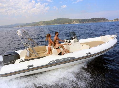 Day rib rental Ibiza – Capelli Tempest 775