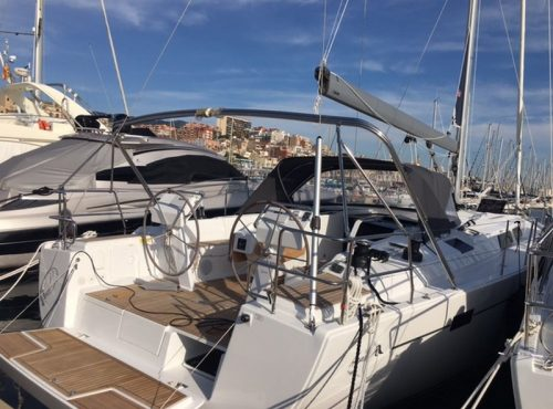 Sailing boat charter in Palma – Hanse 505