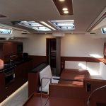 Relax on this Hanse 575 boat rental in palma Mallorca