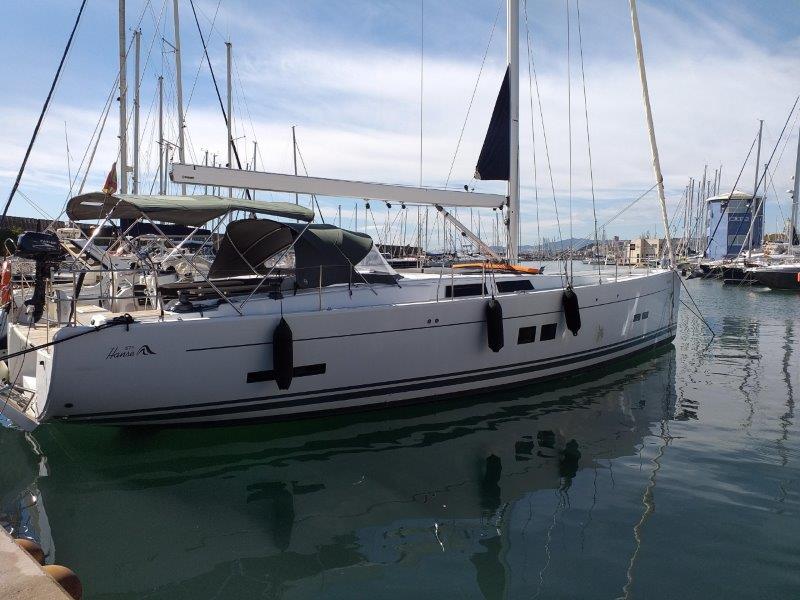 Sailing charter in Mallorca - Hanse 575