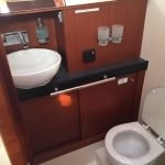 Luxury toilets on the hanse 505