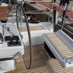 Cruise the coastline on the Hanse 575 boat rental