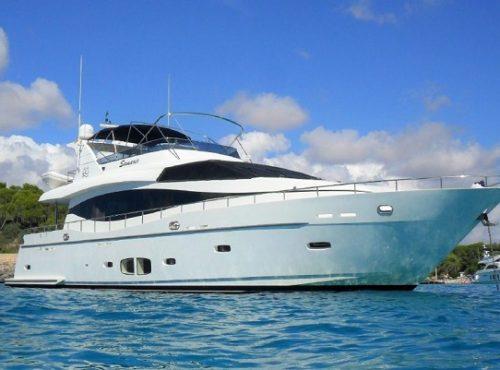 Great yacht charter Palma – Monte Fino 78