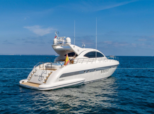 Amazing yacht charter in Palma – Mangusta 72