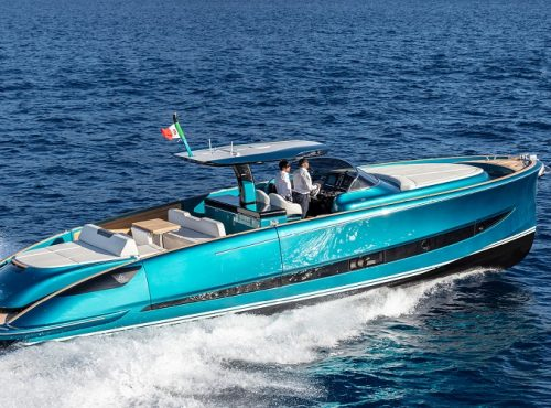 Unique boat charter in Mallorca – Solaris Power 48
