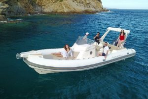 Capelli Tempest 850 ready to explore Ibiza with you