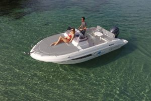 Relax on board the Pacific Craft 625 boat rental in Ibiza