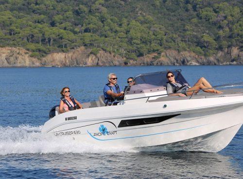 Boat hire in Ibiza – Pacific Craft 630