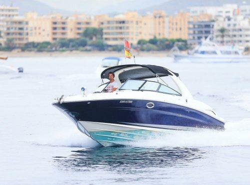 Boat hire in Ibiza – Sea Ray 295 Bow Rider