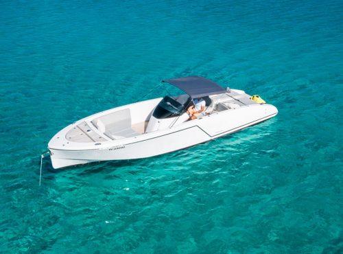 Stunning charter in Ibiza – Frauscher 1017 GT AIR