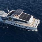 Eco friendly solar powered catamaran for charter in Mallorca