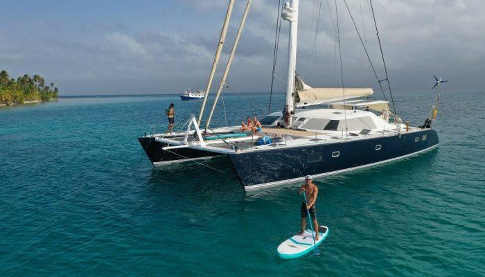Group catamaran charter in Mallorca