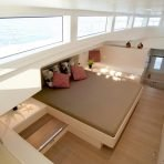 Amazing and spacious cabins on board the Silent 55 eco catamaran