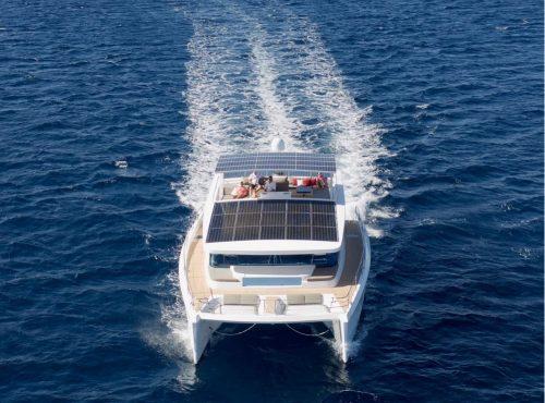 Luxury Solar Powered Catamaran – Silent 55
