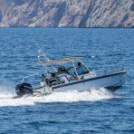 Axopar boat rental in Cala Nova, Mallorca