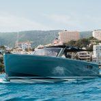 Fjord 40 boat charter in Cala Nova, Mallorca