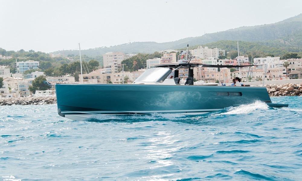 Fjord 40 Open for your amazing boat charter in Cala Nova, Mallorca